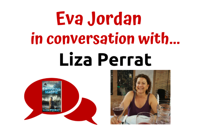 Eva Jordan in conversation with Liza Perrat - The Story behind The Swooping Magpie - Post Header
