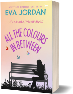All the Colours in Between - 3D book cover