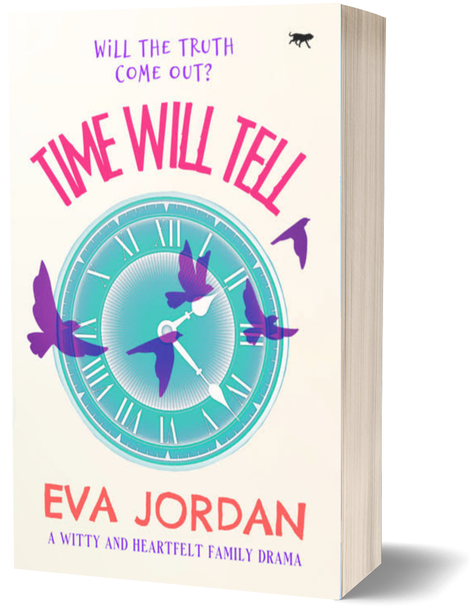 Time Will Tell - 3D book cover
